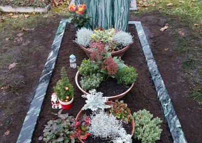 Atlantis aus Norwegen auf dem Friedhof Mettingen